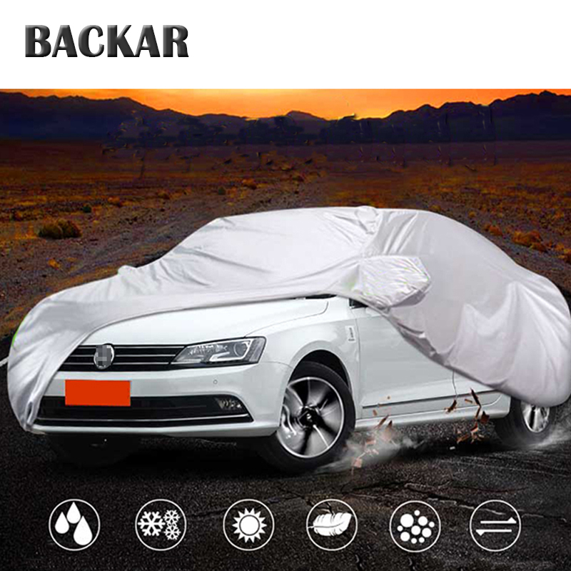 Backar Auto Car Covers Sedan Snowproof For Toyota Camry VW Passat B5 B6 B7 B8 CC Skoda Superb Chevrolet Malibu Epica Camaro