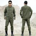 Uniforme Militar Táctico al aire libre Ropa de Caza CS Uniforme de Combate Del Ejército Militar de Los Hombres de la Chaqueta + Pantalones de Trabajo Ropa de Camuflaje