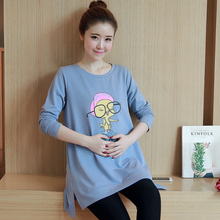 Funny Maternity Shirts Spring Antumn Pregnancy T Shirt Pregnant T-shirt Maternity Tee Shirts Ropa Premama Pregnancy Clothes B257
