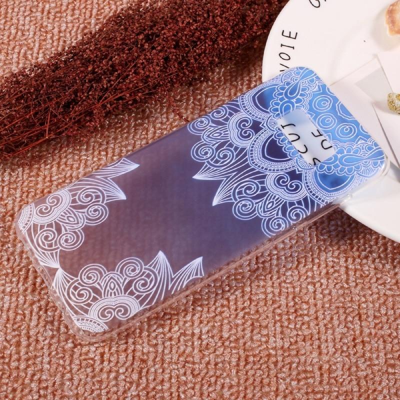 Cajas del teléfono para la Galaxia S8 Más Bolsa En Relieve Suave de Tpu Accesori
