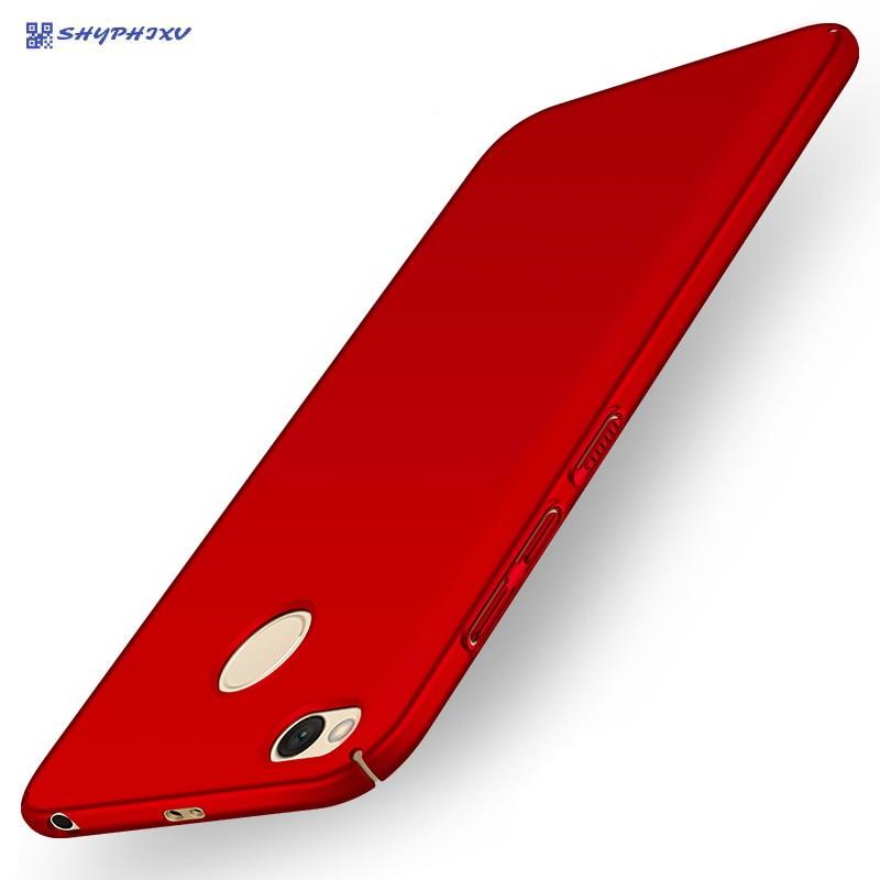 Carcasă SHYPHIXV pentru Xiaomi Redmi 4X Fosco Hard PC Cover Cover - Accesorii și piese pentru telefoane mobile