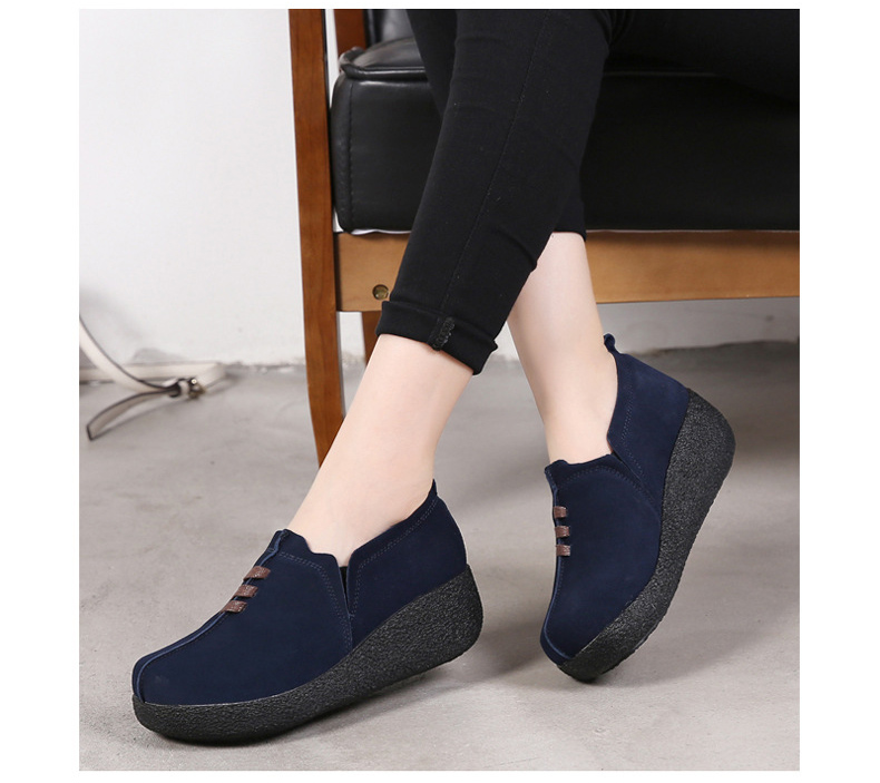 LL 3022-2019 Spring Autumn Women Wedge Shoes-18