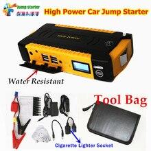 Портативный автомобиля Пусковые устройства 16000 мАч Запасные Аккумуляторы для телефонов аварийного авто Батарея бустер автомобиля Пусковые устройства лучше, чем 68800 мАч
