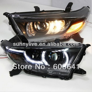 Kluger Highlander LED Head Lamp for TOYOTA 2012-2013 year PW