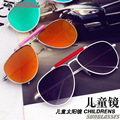 2016 New Bonito Crianças Óculos De Sol UV400 Revestimento de Espelho De Metal Crianças ray óculos de Sol de design Das Meninas Dos Meninos da criança Eyewear Gafas de Sol