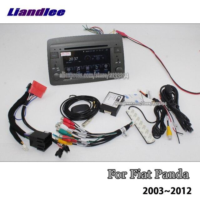 Liandlee 6.2 pouces Android 8.0 pour Fiat Panda 2003 ~ 2012 stéréo vidéo Wifi lecteur DVD carte Carplay GPS Navi Navigation multimédia 3