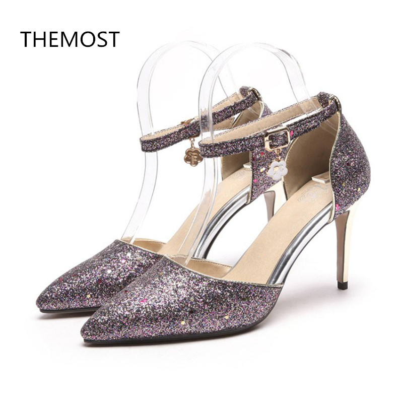 Chaussure Femme sandales à haut talon sexy Violet