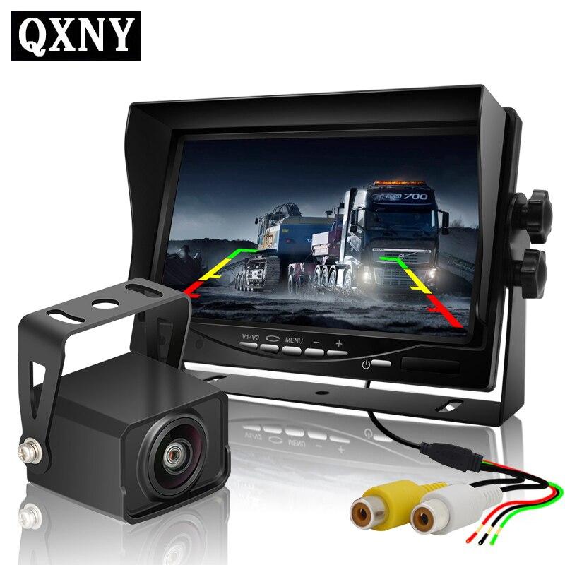 VOITURE vue caméra haute définition 7 pouces numérique LCD moniteur de voiture,, idéal pour DVD, MAGNÉTOSCOPE affichage, véhicule camers électronique auto