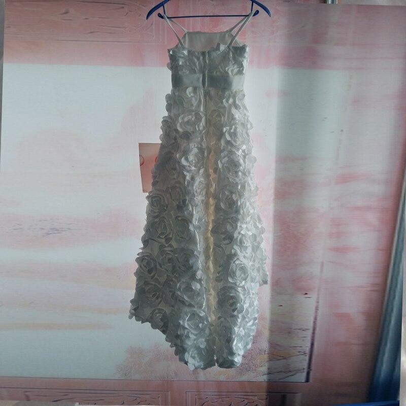 Ručně vyráběné květiny Květinové šaty Šperky Spaghetti Bez - Šaty pro svatební hostiny - Fotografie 5