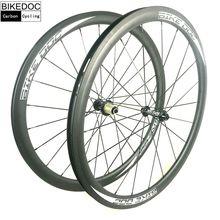 Bikedoc колеса углерода 38 мм 45 мм 50 мм 60 мм 88 мм колеса велосипеда углерода 700C велосипеды углеродного колесная довод