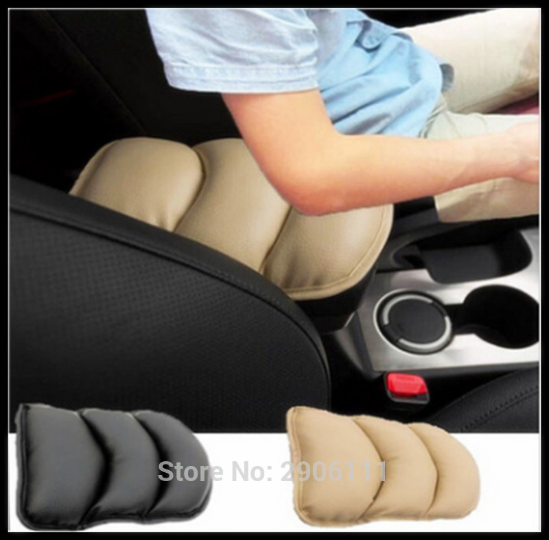Universal Car Seat Cover Soft Leather Auto Center Armrest Console Box Armrest for Cadillac srx cts ats escalade sts dts bls