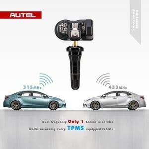 Image 2 - Universal Autel Reifen Programmierung TPMS 315MHZ 433MHZ MX Sensor Unterstützung Reifen Programmierung Autel TPMS PAD Diagnose Tool auto TPMS