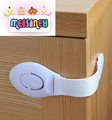 10pcs/lot Cabinet Locks & Straps Multifunctional baby Clubman ribbon safety lock clamping proof safety belt drawer cabinet door