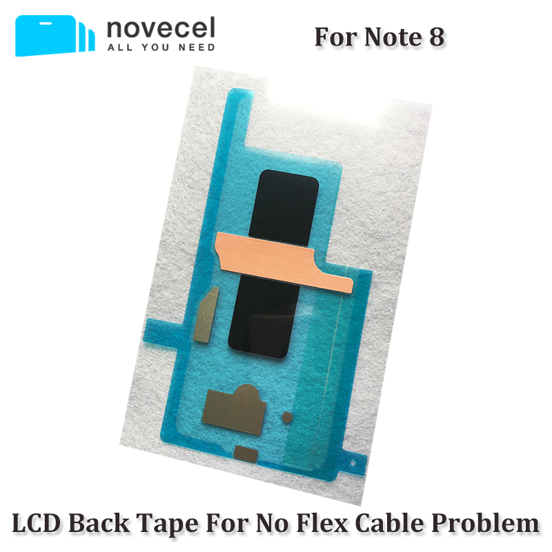 Novecel N950 LCD Backlight Sticker Back tape For Samsung Note 8 LCD Screen Refurbish Replacement - No Stylus Flex Cable Problem