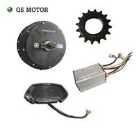 Hot sale quanshun motor bldc 3000w spoke hub motor kits kls7230s controller ct22 speedometer for electric bicycle