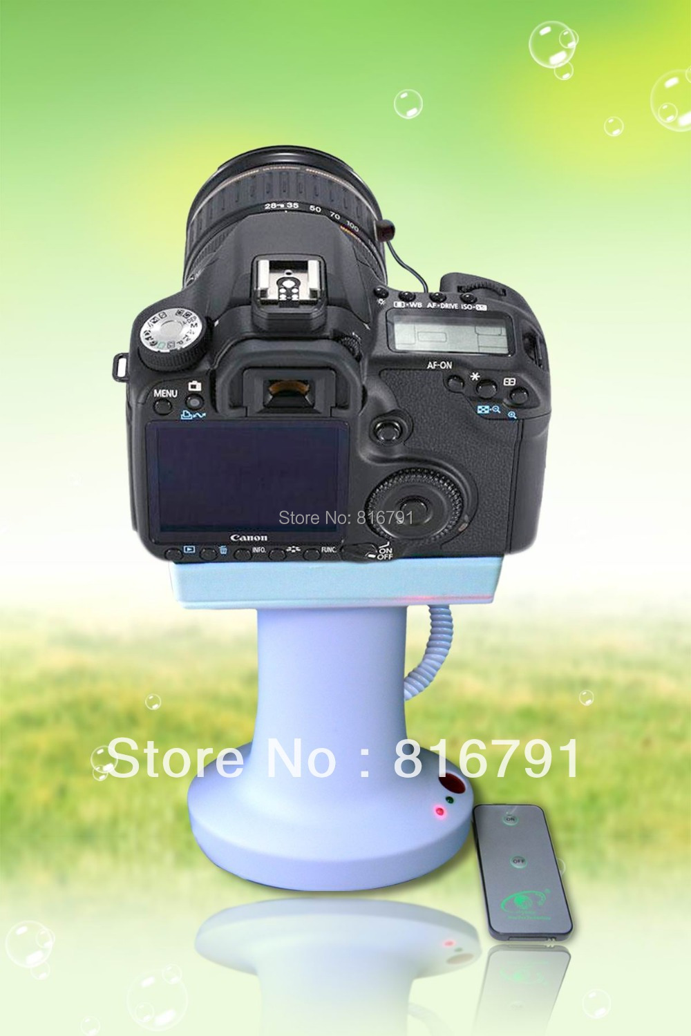 ФОТО Free Shipping SLR camera security display stand for Canon/Nikan store anti-theft