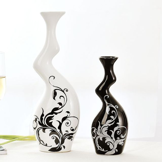 KEYBOX Home Furnishing Modern Decoration Black And White Color ... on