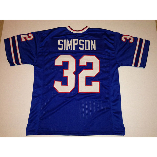 lowest price 16341 30ab2 Mens Retro O.J. Simpson Stitched Name&Number Throwback Football Jersey Size  M 3XL-in America Football Jerseys from Sports & Entertainment on ...