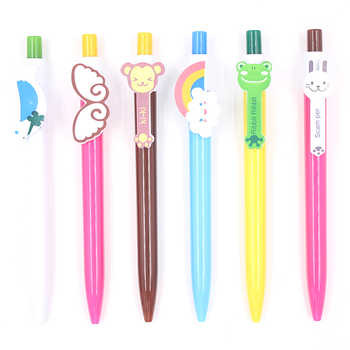Jonvon Satone 60 Pcs Kawaii Cartoon Ballpoint Pens Cute Lovely Cat Bird Ball Pen Plastic School Supplies Korean Stationery Gifts - DISCOUNT ITEM  29 OFF Education & Office Supplies