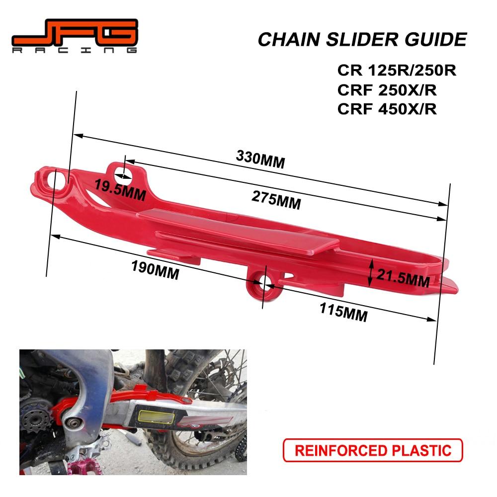 2005-2008 Honda CRF 450R; 05-09 CRF 250 Chain Slider /& Guide Set
