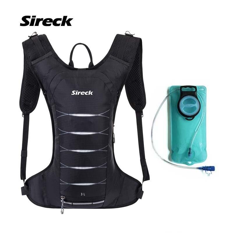 Sireck 2L TPU Sport sac à eau 3L étanche en plein air en cours d'exécution cyclisme eau sac à dos escalade randonnée hydratation sacs à dos vessie