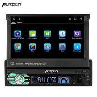 Pumpkin 1 Din 7 Android 6 0 Car Radio No DVD Player GPS Navigation Bluetooth DAB