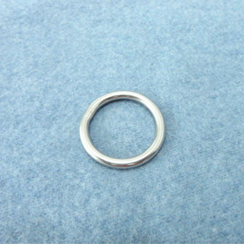 10PCS Stainless Steel  Rings Hardware  Round Buckles  Round Ring Webbing Buckles Welded Inside Diameter 25mm Bags Hardware