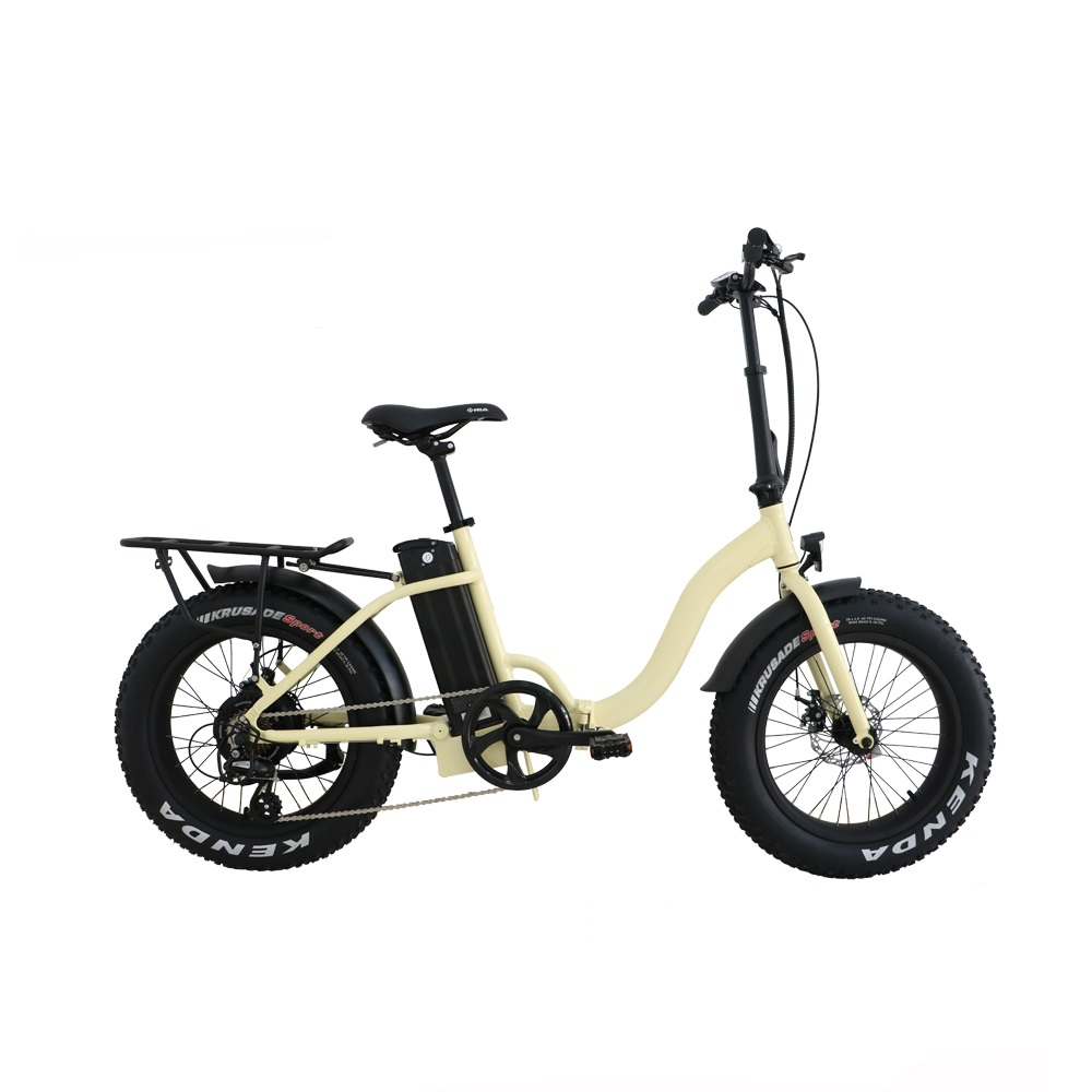 Drop shipping USA/CANADA High Speed 48V500W Fat tire electric bike 20 inch folding electric bicycle