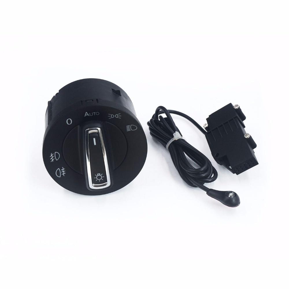 Автоматический светильник, сенсор с ручка переключатель фар светильник переключатель ручка для VW Golf 7 MK7 Polo новый Tiguan Touran T-Roc Tarraco Transporter 5G0941431B 431BF