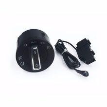 Автоматический светильник, сенсор с ручка переключатель фар светильник переключатель ручка для VW Golf 7 MK7 Polo новый Tiguan Touran T-Roc Tarraco Transporter ...