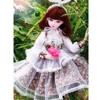 Princess Dolls with Wig Clothes Shoes Handmade