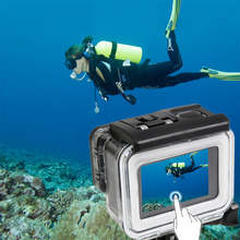 35m Diving Waterproof Touch Cover Case for Xiaomi Yi 4K 2 II Camera Touch Screen Protector Waterproof Housing Case