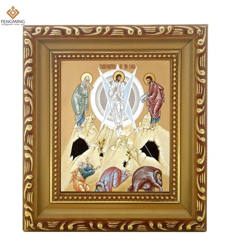 Hohe qualität bilderrahmen Orthodoxe Kirche liefert heiligen ...