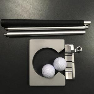 Image 5 - Golf Putter Putting Trainer Mini Golfuitrusting Practice Kit Reizen Praktijk Indoor Golfs Accessoires Golf Training Aids Tool
