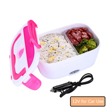 Electric Heating Lunch Box Car Use 12V Insulation Food Container Heating Food Warmer Heater Food Container Dinnerware Benta Box цена 2017