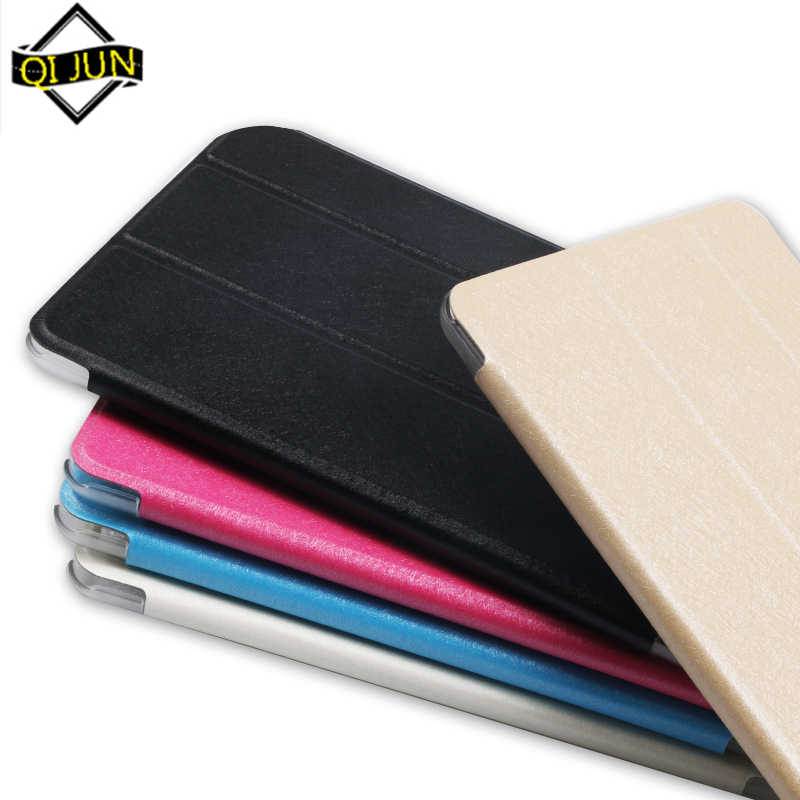 "Case For Samusng Galaxy Tab E 9.6 inch SM-T560 SM-T561 9.6"" Cover Flip Tablet Cover Leather Smart Magnetic Stand Shell Cover"