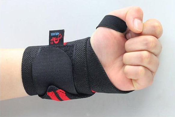 Fitness Cotton Strength Bandage Hand Wrist Straps Sport Wristbands Support Wrist Protector Carpal Tunnel Wrist Brace Gym Z12101