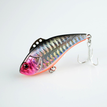 1pcs Winter Fishing Lures Hard Bait 8.5g 13g 19g VIB With Lead Inside Lead Fish Ice Sea FishingTackle Swivel Jig Wobbler Lure