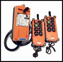 F21 E1B Industriële Radio Afstandsbediening Hoist Kraanbesturing Lift Crane 2x Zender + 1x Ontvanger Brand New