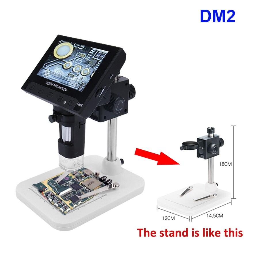 1000X Microscópio Digital USB microscópio eletrônico de vídeo portátil para leitura de solda Com 4.3 HD Tela OLED