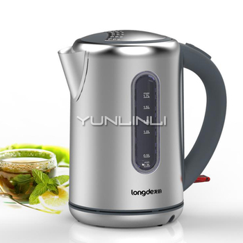 1.7L Electric Kettle Stainless Steel Electic Water Boiler Household Quick Heating Pot LD-K3003A-1