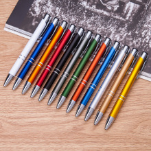 10pcs/lot Wholesale Metal Pen Aluminum Ballpoint Ball for Gift