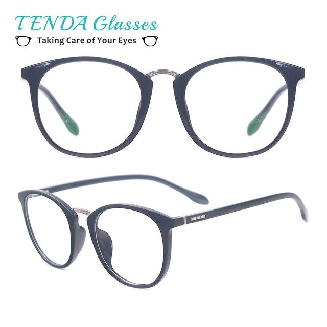 26d44452a9 Acetate Lightweight Retro Glasses Frame Men   Women Small Round Frames  Eyeglasses For Myopia   Reading
