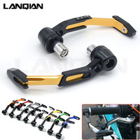 CNC Universal Motorcycle Brake Clutch Levers Protector Motorbike Lever Guard For DUCATI HYPERMOTARD 821 939 1100 796 ST4S S4/S4R