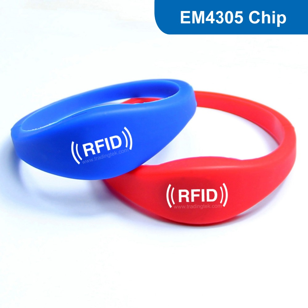 WB03 Siliocne RFID wristband Bracelet tag proximity tag RFID Smart Tag for Access Control 125KHZ 512bit R/W with EM4305 Chip wb03 silicone rfid wristband rfid bracelet proximity smart em card frequency 125khz for access control with tk4100 chip