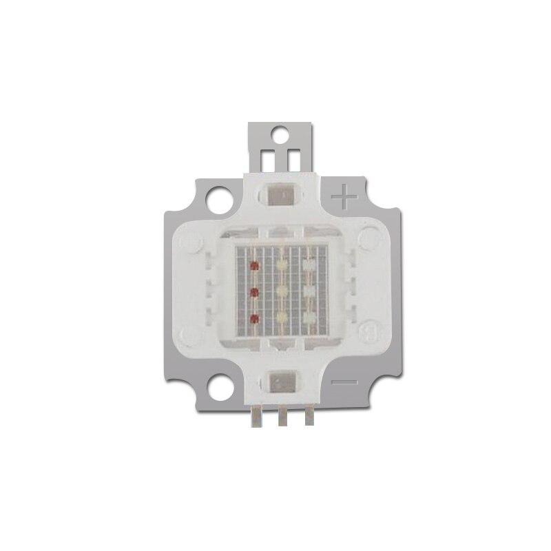 LED COB CHIP 10W/20W/30W/50W/100W LED RGB High Power Lamp Stage Light Red Green Blue Light Chips Free Shipping 10pcs/lot