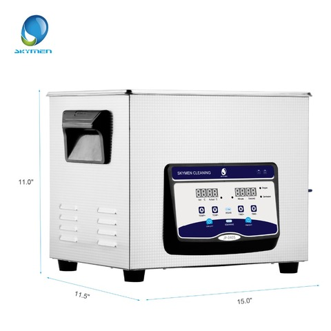 SKYMEN Newest Digital Ultrasonic Cleaner Stainless Steel  10l  liter ultrasonic cleaner with heater and Timer degasing Lahore