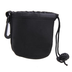 100* 80mm Universal Neoprene Waterproof Soft Pouch Bag Case for Video Camera Lens