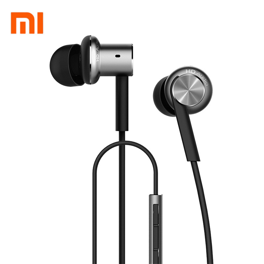 Original Xiaomi Hybrid / Pro HD Earphone In-Ear HiFi Earphones Mi Piston 4 With Mic Circle Iron Mixed For Xiaomi MI5 MI6 Redmi 3
