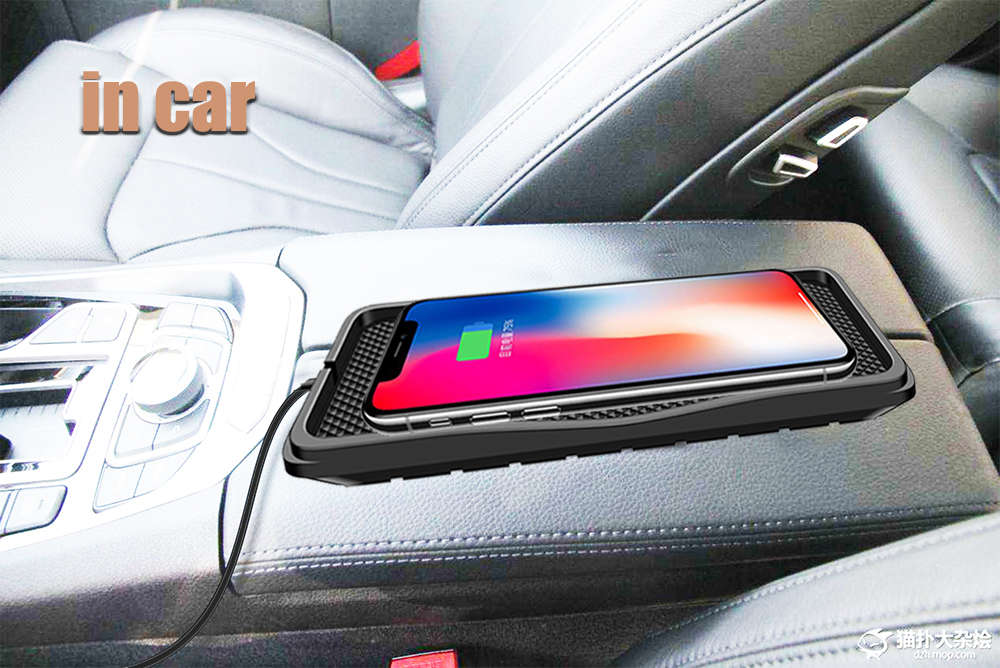 qi car charger wireless charger charging pad